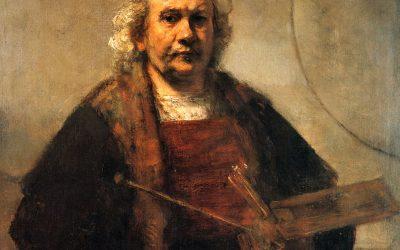 Mesterek színpalettái 2. Rembrandt paletta